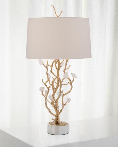 Quartz Bud Table Lamp