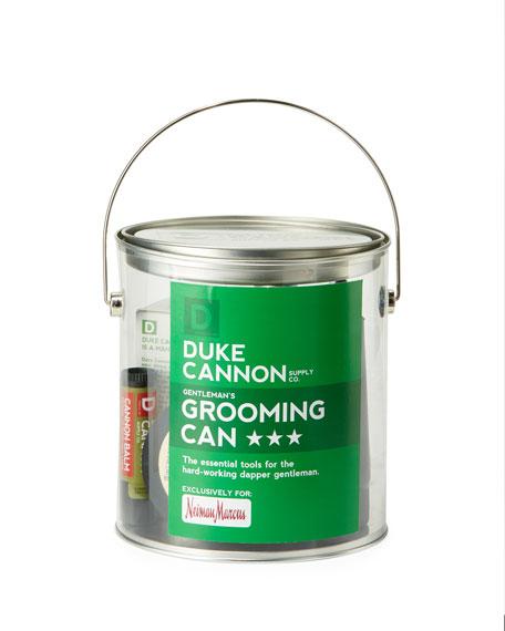 Duke Cannon Dapper Gentleman's Grooming Can Gift Set