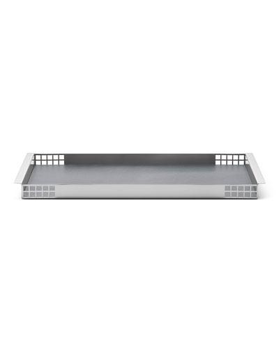 Matrix Mirror Stainless Steel Tray