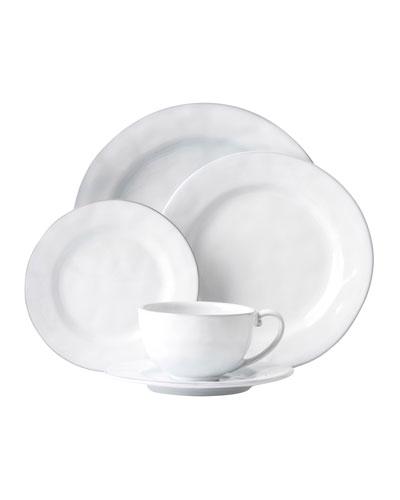 5-Piece Quotidien White Truffle Dinnerware Place Setting