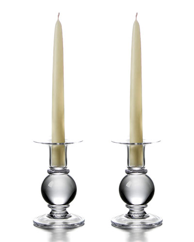 Hartland Small Candlestick Holders, Set of 2