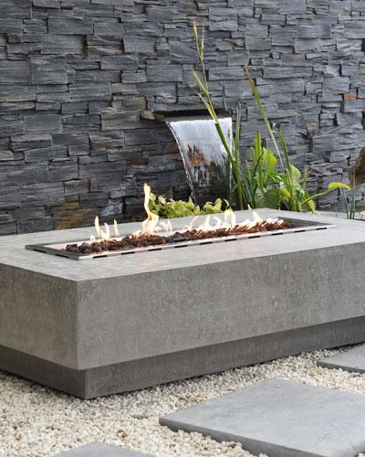 Hampton Outdoor Fire Table  LP Gas