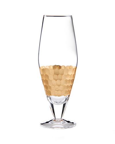 Daphne Gold Prosecco Wine Glasses, Set of 4