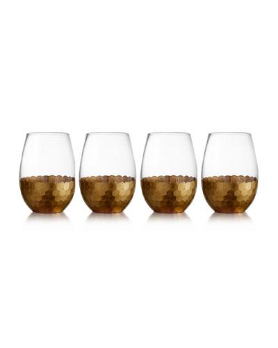 Daphne Stemless Wine Glasses, Set of 4