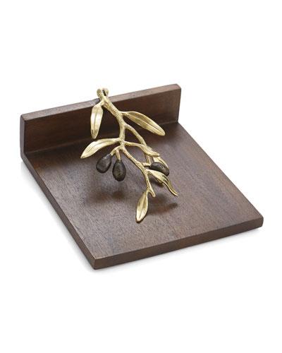 Olive Branch Napkin Holder