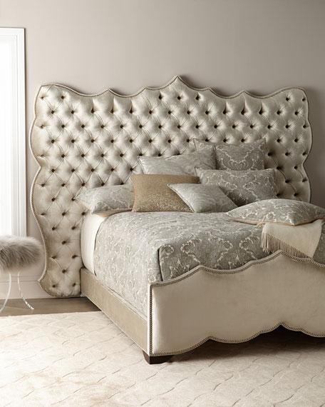 Samara Tufted King Bed