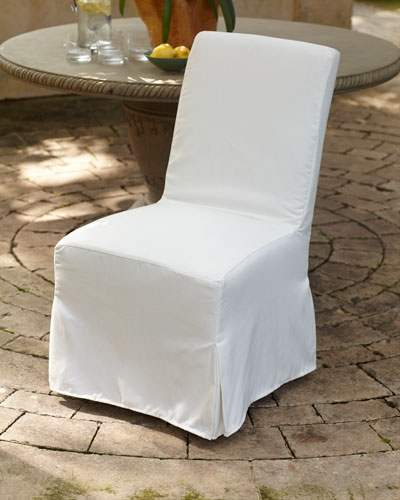 Pair of Zada Slipcover Dining Chairs