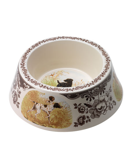 Woodland Hunting Dogs Dog Bowl