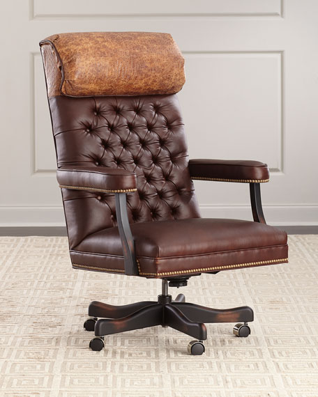 Barret Leather Office Chair
