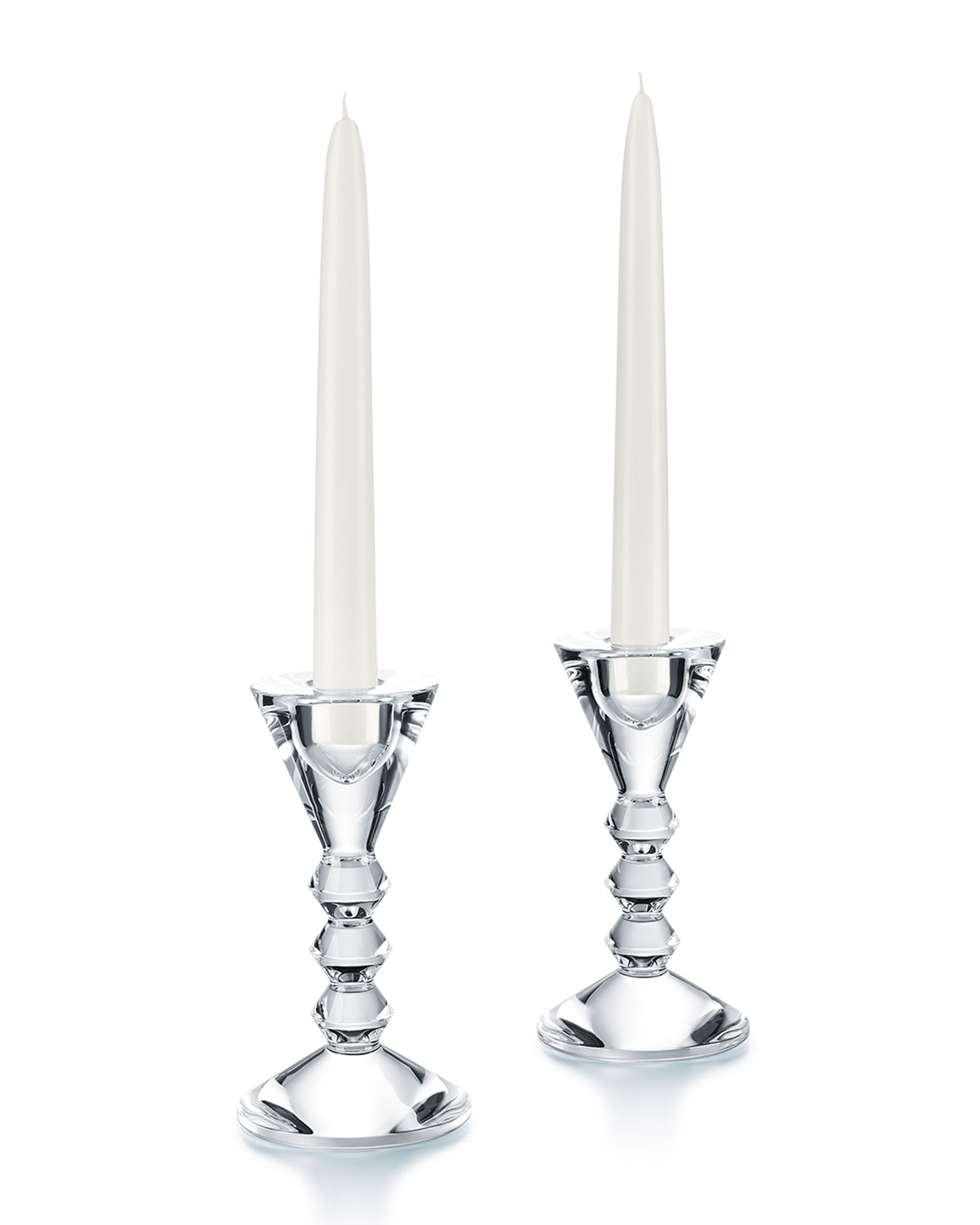 Baccarat Vega Candlestick Holders Set Of 2 Neiman Marcus