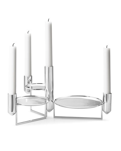 Tunes Stainless Steel Centerpiece