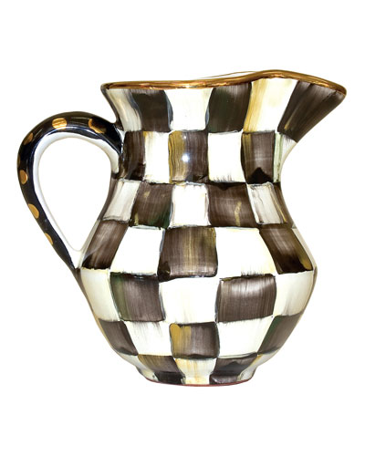 Courtly Check Creamer/Pitcher