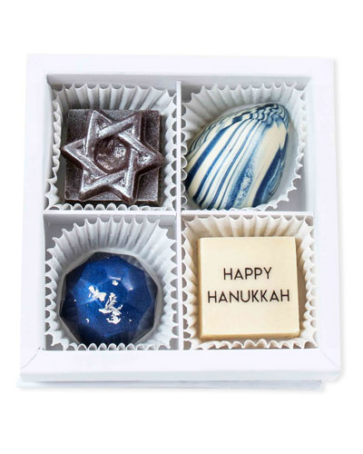 Hanukkah Chocolates Gift Box