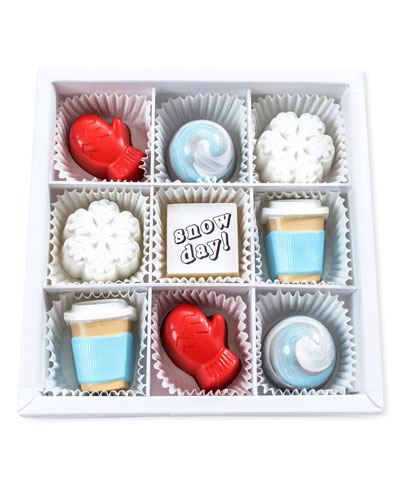 Snow Day Chocolates Gift Box
