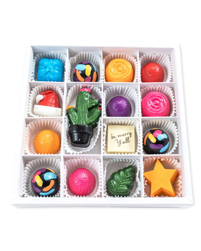 Be Merry Y'all Chocolates Gift Box
