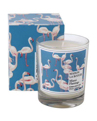 Miami Flamingo Scented Candle  6.7 oz./ 180 g