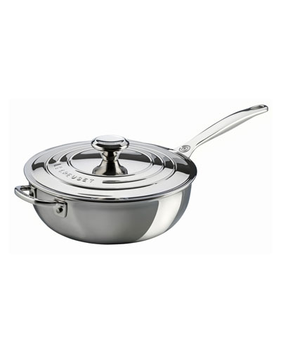 Helper Handle Sauce Pan with Lid