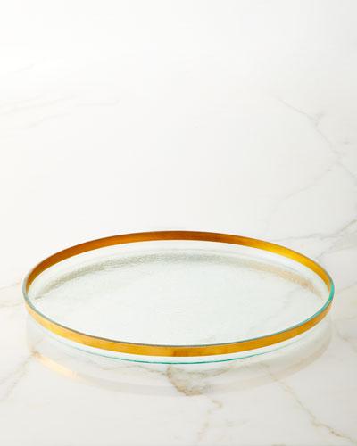 Mod Round Platter