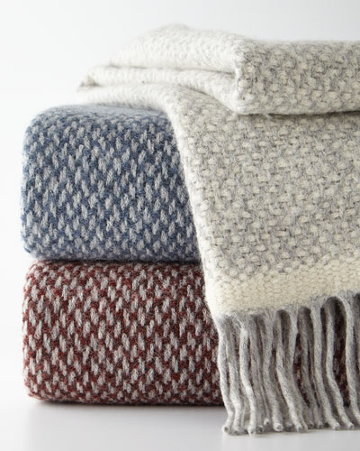 Alpaca-Blend Decorative Throw