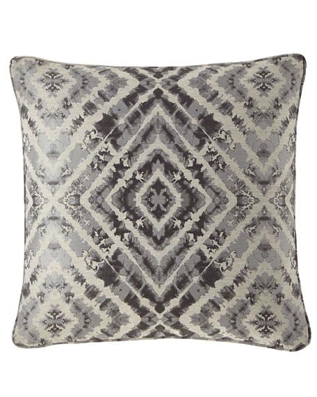 Jane Wilner Designs Plumes Diamond Decorative Pillow