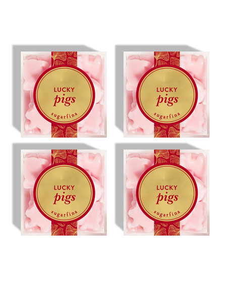 Lunar New Year Lucky Pigs Bundle, Set of 4