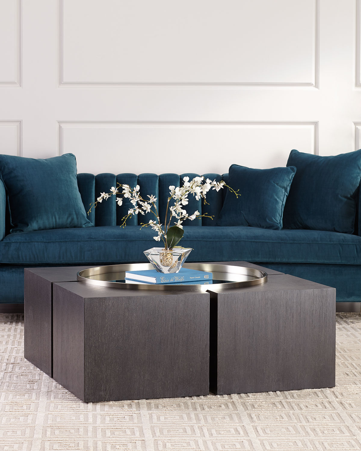 Bernhardt Decorage Square Coffee Table