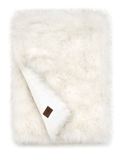 Blizzard Faux-Fur Throw Blanket