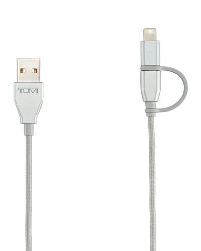2-in-1 Lightning & USB Cable