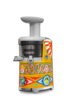 Smeg D&G x SMEG Hand-Painted Slow Juicer