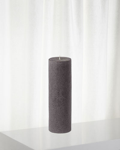 Shagreen Pillar Candle, 725g