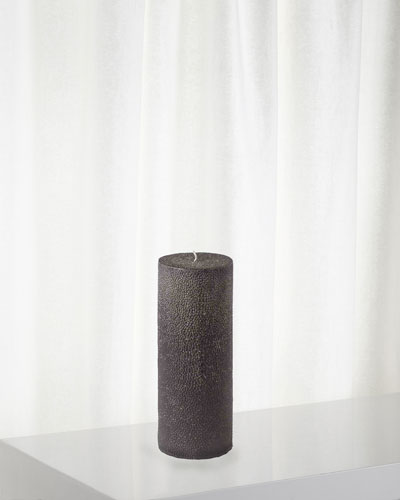 Shagreen Pillar Candle, 720g