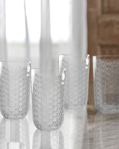 Bistro Key Clear Highball Glasses, Set of 4