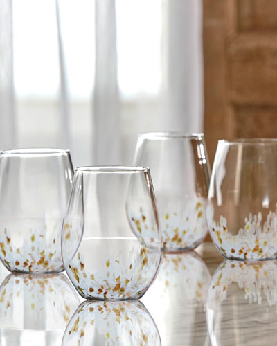 Cymone Stemless Glasses, Set of 4