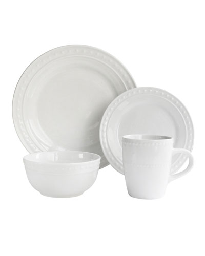 Monique Porcelain 16-Piece Dinnerware Set