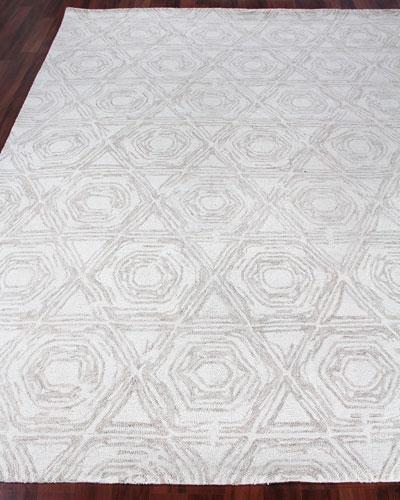 Virginia Hand-Tufted Rug, 6' x 9'