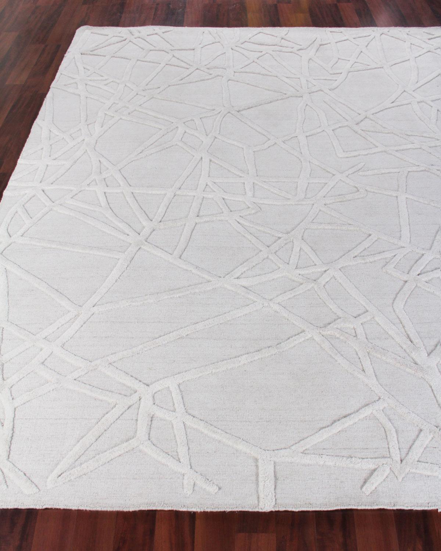 Exquisite Rugs Georgia Hand Woven Wool Area Rug 12 X 15 Neiman