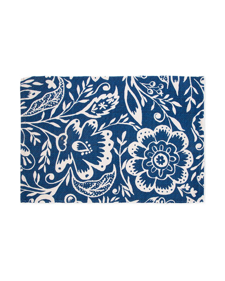 MacKenzie-Childs Villa Garden Indoor/Outdoor Mat, 2' x 3'