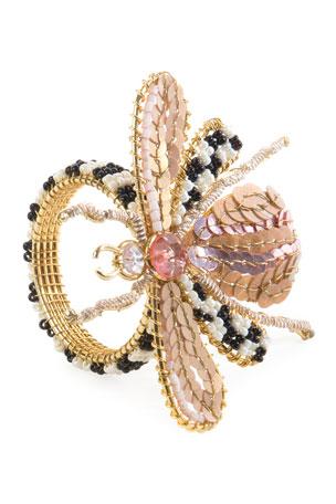 MacKenzie-Childs Queen Bee Napkin Ring