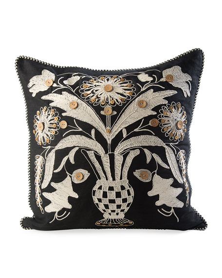 MacKenzie-Childs Great Vase Pillow