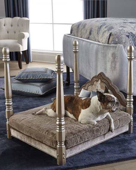 Image 2 of 3: Haute House Jaiga Poster Pet Bed