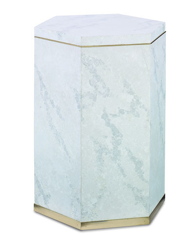 Porta Stone Accent Table