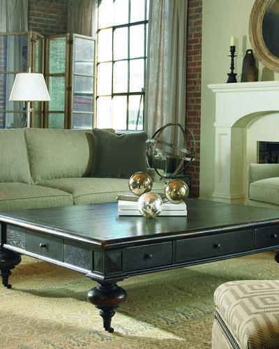 Grand Oak Coffee Table
