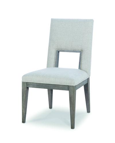 Kendall Linen Cutout Side Chair