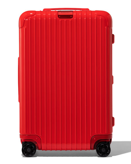RIMOWA Essential Check-In M Spinner Luggage in Red