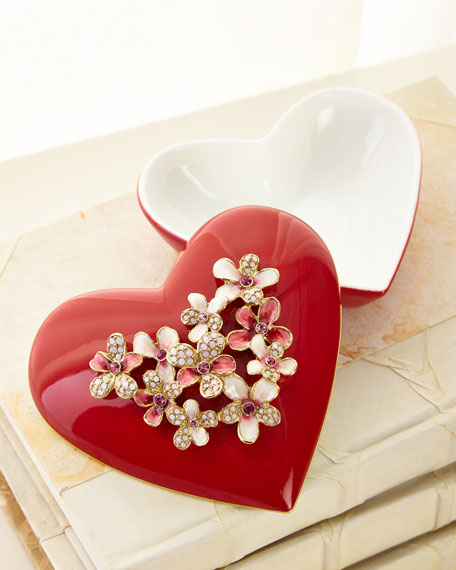 Bouquet Heart Box