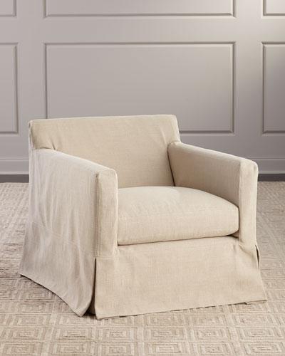 Lucas Slipcover Chair