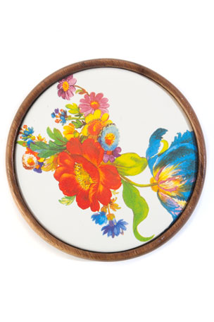 MacKenzie-Childs Flower Market Coasters, Set of 4