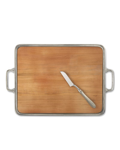 X-Large Cheese Tray with Handles