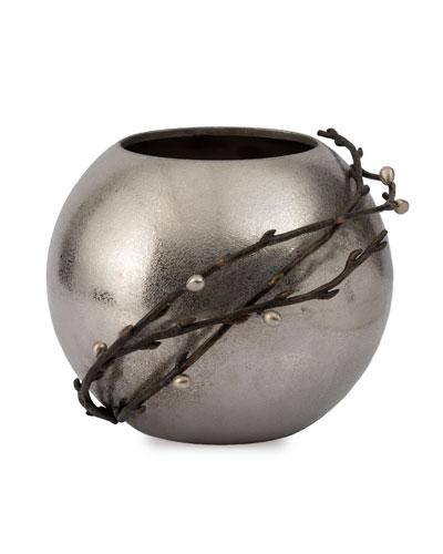 Willow Rose Bowl Vase
