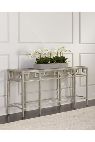 John-Richard Collection QING ANTIQUE MIRRORED CONSOL